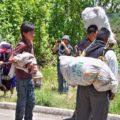 Desplazados el ejido Puebla, en Chenalhó. Foto: Radio Pozol/Chiapas PARALELO