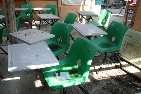 Las protestas magisteriales por la Refoma Educativa ha ocasionado en diversas ocasiones la suspención de labores en las escuelas. Foto: Isaín Mandujano/Chiapas PARALELO