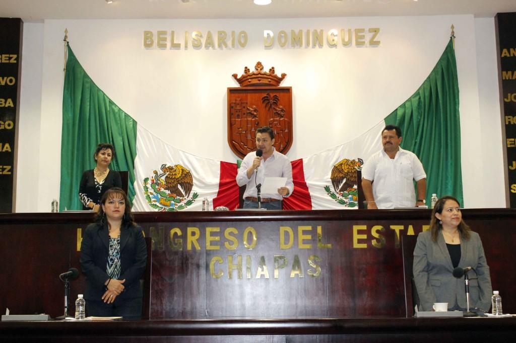 Las y los diputados van de un tema a otro sin seguir la agenda legislativa. Foto: Archivo Congreso de Chiapas.