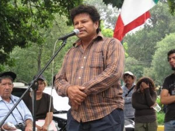 Mariano Abarca pugnaba porque la industria minera no dañara el medio ambiente en su natal Chicomuselo. Foto: Archivo Familia Abarca
