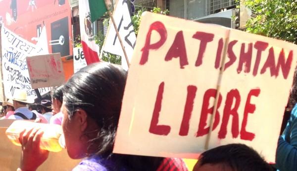 """""""Declarar la libertad de Patishtán no sólo será un acto de justicia, representará un paso significativo para combatir la reiterada impunidad"""". Foto: Isaín Mandujano/Chiapas PARALELO"""