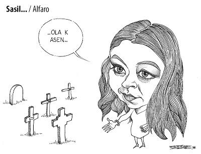 Cartón de Enrique Alfaro/Chiapas PARALELO.