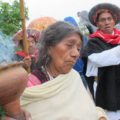 Sobrevivientes de Acteal demandan justicia contra los autores de la masacre de 1997. Foto: Ángeles Mariscal/Chiapas PARALELO