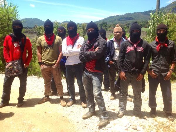 El gobierno de Enrique Peña Nieto pretende que el EZLN acepte reunirse con sus representantes. Foto: Isaín Mandujano/Chiapas PARALELO