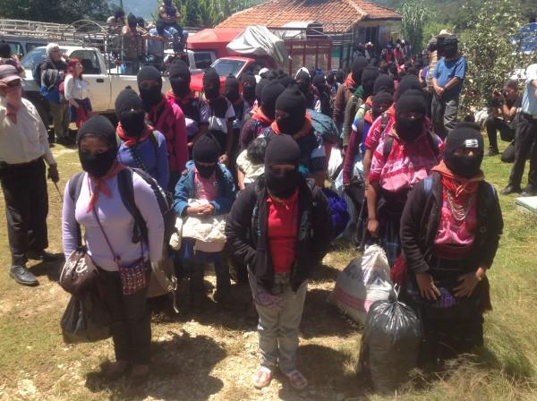 Zapatistas consideraron que implementación de autonomías potenció su desarrollo integral. Foto: Isaín Mandujano/Chiapas PARALELO