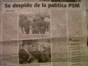 Edición de El Herlado de Chiapas del 03/12/06