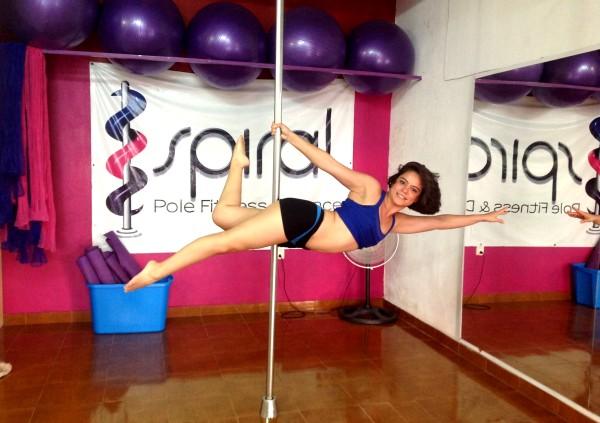 En agosto del 2011 creó Spiral Pole Fitness & Dance. Foto: Isaín Mandujano/Chiapas PARALELO