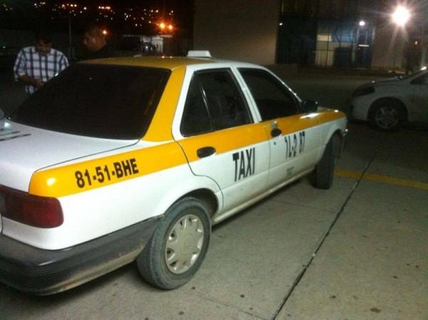 A bordar este taxi la noche del sábado 28, fue la peor pesadilla que haya vivido Lourdes Albores Figueroa.