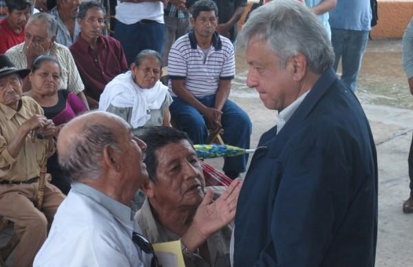 Andrés Manuel López Obrador continúa en gira de trabajo en Chiapas. Foto: Archivo AMLO