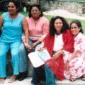 Durante su detención policías abusaron de la Maestra Adela Gómez y sus dos hijos menores de edad. Foto: Archivo familia Gómez