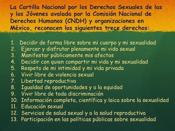 CONOCE TUS DERECHOS SEXUALES