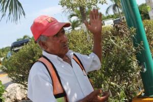 La edad no lo detuvo a don Primitivo Pérez, nativo del municipio de Belisario Domínguez, ubicado en la Sierra Madre de Chiapas, quien narró que a sus 73 años de edad. Foto: Rosy Pérez