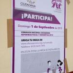 Consulta en Tapachula sobre las Reformas de Peña Nieto Foto: Chiapas Paralelo