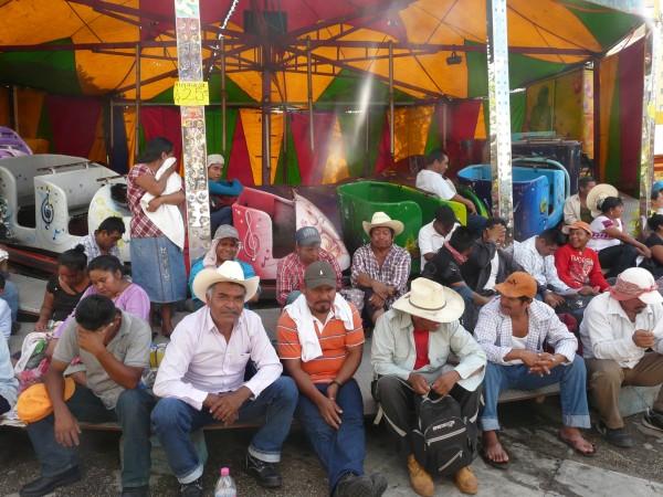 Desplazados de Carranza peregrinan sin reencontrar su hogar. Foto: Chiapas PARALELO