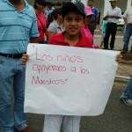Marcha de maestros en Tuxtla Gutiérrez, contra la Reforma Educativa. Foto: Chiapas Paralelo