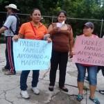 Maestras salieron a movilizarse este domingo. Foto: Chiapas Paralelo