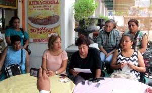 """""""Si a nosotros que somos policías nos dan malos tratos, imaginen como le va a los detenidos en los separos del cuartel municipal"""", dijeron las mujeres policías en voz de Yeri Cecilia Méndez Astorga."""