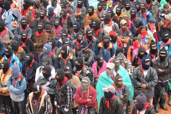 El EZLN ha incrementado su presencia en los últimos 19 años. Foto: Ángeles Mariscal/Chiapas PARALELO