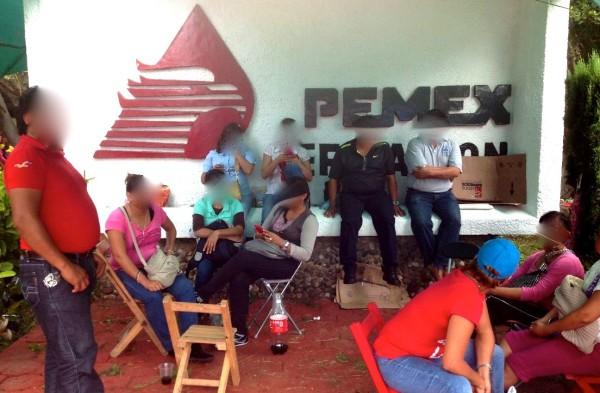 Como una medida de seguridad, ahora Chiapas PARALELO censurará los rostros, porque es sabido ya que se usan este tipo de imágenes para identificaros y abrirles expedientes de sanciones. Foto Isaín Mandujano/Chiapas PARALELO