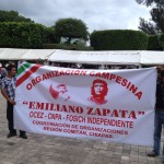 Marcha en Comitán contra las Reformas de Peña Nieto Foto: Fredy Martín