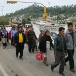 Integrantes de diversas organizaciones participaron en la manifestación.Foto: Carlos Herrera