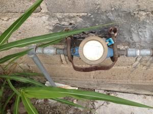 Medidor de agua...