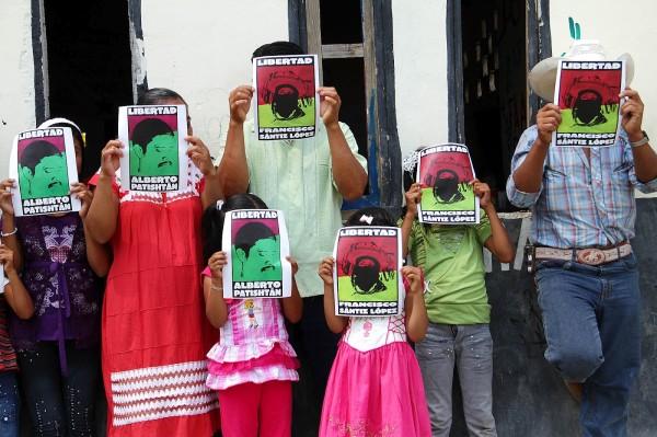 Indígenas, EZLN, políticos, legisladores, activistas de México y otros países se han pronunciado por la libertad del maestro Patisthán. Foto: Familia Patishtán
