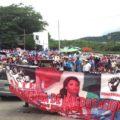 Desde el pasado 28 de agosto maestros realizan diversas manifestaciones en el marco de su protestas contra la Reforma Educativa. Foto: Isaín Mandujano/Chiapas PARALELO