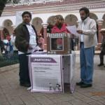 Consulta en San Cristóbal sobre las Reformas fiscal y energética. Foto: Amalia Avendaño