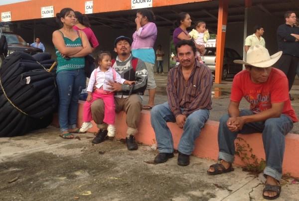 Un grupo de 121 familias indígenas de Carranza que permanecieron desplazados por casi cinco meses, retornaron a Carranza para fundar un nuevo centro poblacional. Foto: Isaín Mandujano/Chiapas PARALELO