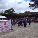 En Comitán también se movilizaron varias organizaciones. Foto: Fredy Martín