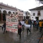 Marcha en San Cristóbal contra las Reformas de Peña Nieto Foto: Amalia Avendaño