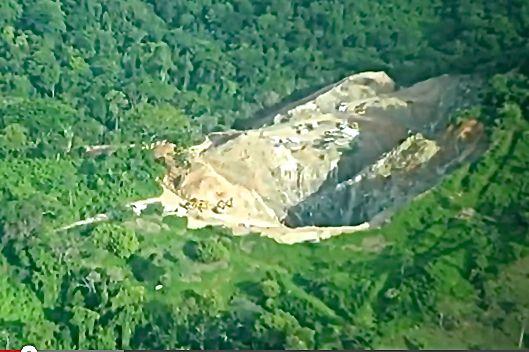 En la sierra de Chiapas hay al menos 16 permiso de exploración y explotación minera. Foto: Cortesía Alianza Sierra Madre