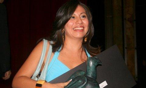 """Fátima Monterrosa ha sido galardonada en varias ocasiones por su trabajo como reportera. Ha obtenido el Premio Nacional de Periodismo y el Premio Rostros de la Discriminación """"Gilberto Rincón Gallardo"""". Foto: Archivo/Chiapas PARALELO"""