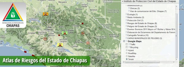 En Chiapas, el constate crecimiento poblacional provoca que cada día se identifiquen nuevas zonas de peligro.