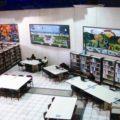 Biblioteca del Centro Cultural Jaime Sabines. Foto: Cortesía/ Chiapas PARALELO.