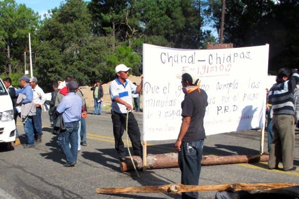 Habitantes del lugar demandan respuesta a solicitud para implementar proyectos de desarrollo. Foto: Amalia Avendaño