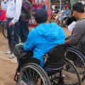 Grupo Visión lo forman hombres y mujeres con y sin discapacidad visual que viven en la ciudad, que buscan generar una conciencia social ante las capacidades físicas y mentales diferentes en la población. Foto: Carlos Herrera