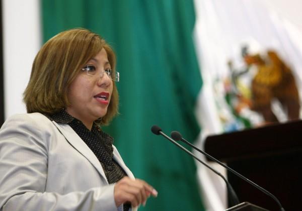 Diputada del PRD, Alejandra Soriano Ruíz. Foto: Congreso del Estado/ Chiapas PARALELO.