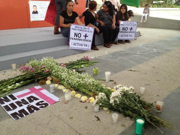 En Chiapas se han realizado movilizaciones en contra de los feminicidios. Foto: Isaín Mandujano/Chiapas PARALELO. Archivo.