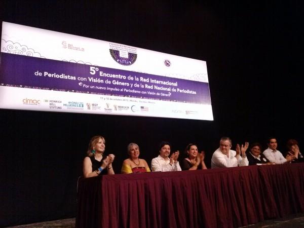 Analizan la violencia en contra mujeres periodistas, condiciones laborales, seguridad digital  y feminicidios en México. Foto: Sandra de los Santos