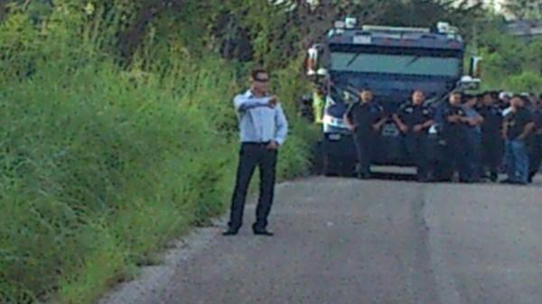 El hombre del espectáculo impúdico en tierras del liberal Ángel Albino Corzo, tampoco habló. Foto: Cortesía/Chiapas PARALELO