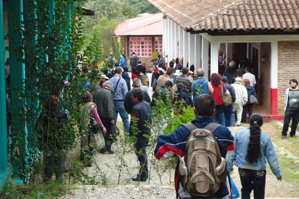 Asistentes a la Escuelita Zapatista. Foto: Gaspar morquecho