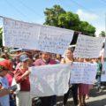 Este 2 de octubre diversos sectores se congregaron para protestar contra las reformas estructurales del presidente Enrique Peña Nieto. Foto: Cesar Rodríguez/Chiapas PARALELO
