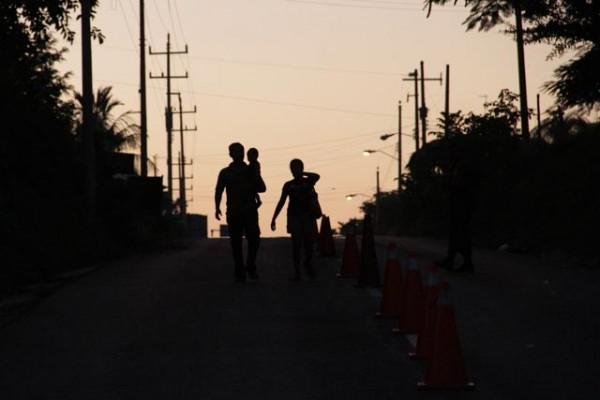 Todos los días miles de migrantes entran por la frontera sur de México, con la esperanza de llegar a Estados Unidos. Foto: Moysés Zúñiga/Chiapas PARALELO
