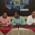 Cesar Espinosa Morales, Eduardo Ramírez Aguilar y Raquel CalyMayor.