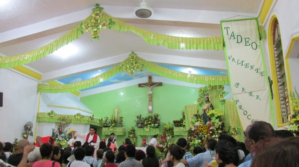 San Judas Tadeo es la imagen religiosa más celebrada después de la Virgen de Guadalupe.