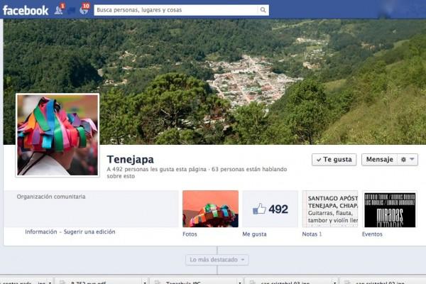 Girón Sántiz utiliza el internet en el mantenimiento y difusión de las tradiciones de su lugar de nacimiento, Tenejapa.