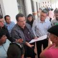 Hasta el próximo lunes se reanudará el servicio en la Unidad Administrativa de San Cristóbal de las Casas. Foto: Carlos Herrera