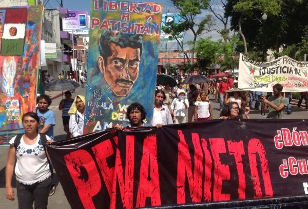 Luego de 13 años y cuatro meses de prisión, este jueves 31 Alberto Patishtán Gómez se dedicará a su otra pelea, la pelea contra el cáncer. Foto: Isaín Mandujano/Chiapas PARALELO